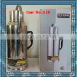 stainless steel 3.2L thermos vacuum flask glass inner