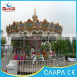 high quality and cheaper attractions musical carousel amusement equipments merry go round