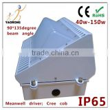 IP65 waterproof 50w led wall pack ETL approved