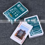UV Resistant Printing Poker Bridge Solitaire Playing Cards,Competitive price custom playing poker cards---DH20619