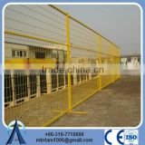 retractable construction temporary fencing/pvc crowd control barrier(factory sale and export)