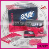 Strawberry Cool 5 Liitle stick Candy in Box Chewing gum                                                                         Quality Choice
