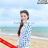 2014 fashion Sun Clothing Beach Protection clothing UV sunscreen shirt uv protective clothing