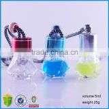 5ml Clear Square Empty Car Hanging Nature Oil Bottle Auto Perfume Diffuser