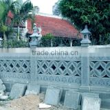 Natural stone polished marble balcony railing designs hand carved stone sculpture from Vietnam