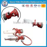 A complete set of fire pump group Electric or manual water gun nozzle made in weite Electric equipment water gun manually