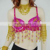 SWEGAL SGBDB13050 1color red women 2013fashion lady women belly dance sexy bra