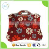 Heat Transfer Printing Colourful Laptop Case Neoprene Tote Bag for Promotional