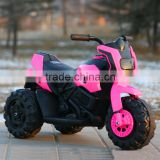 NEW -12V Battery Powered Kids Ride On Toy Chopper Motorcycle Car 3 Wheels