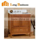 LB-LX2166 Factory bathroom Vanities for antique wall mounted solid wood bathroom cabinet vanity