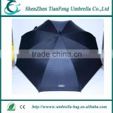 multifuncion auto open crook handle straight umbrella with waterproof T190 pongee fabric