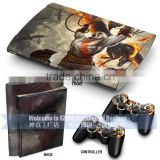 china supplier for ps3 console for ps3 games sticker skin for ps3 super slim 2016 best design