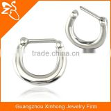 vibrating body piercing jewelry, Fashion Nose Piercing Rings, Magnetic Septum Piercing Clickers