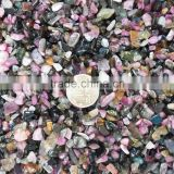 Natural Mixed Tourmaline Chips/Colorful Tumbled Stones
