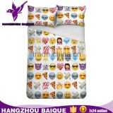Colorful Single Size 4d Bedding Set with Emoji Patterns                                                                         Quality Choice