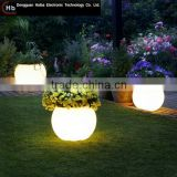 INQUIRY ABOUT LED illuminated plant pot plastic decorative color changing led flower pots christmas flower pots