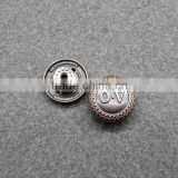 Zinc Alloy jeans Button For Garment