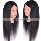 Wholesale Hairdresser Training Head Human Hair Mannequin Doll Head with Wigs