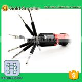 High Performance New 8 in 1 screwdriver kit with LED Flash Light