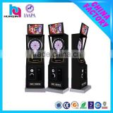 Coin operated advanced dart game machine / video game machine