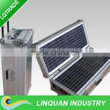 High efficiency 40W portable solar power generation system/drive to laptops/TV digital devices