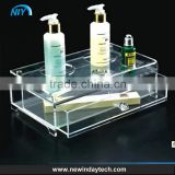 acrylic makeup organizer cosmetic organizer and Large Jewerly makeup storage Case Lipstick
