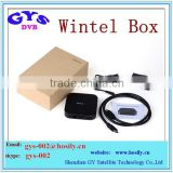 2015 Newest Wintel Box Win8.1 OS Free Internet TV Box