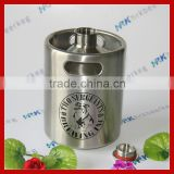 Stainless steel double wall draught beer dispenser