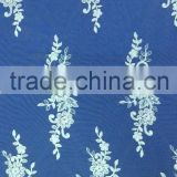 Fashion new design handworking beaded bridal lace fabric