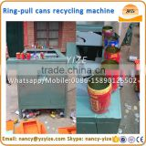 Ring-pull can aluminum iron separator cans bottom stripping machine tin can capping machine