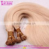 Fashion pre-bonded hair hot sale popular pre-bonded hair extensions wholesale 7a grade pre bonded hair extensions
