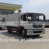 garbage truck manufacturer supply Dongfeng 6cbm garbage compactor truck dimension 7550*2480*3200
