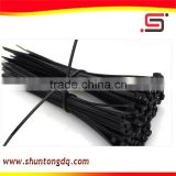 wire black nylon soft zip ties /cable tie machine manufacturers