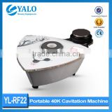 Ultrasonic Liposuction Equipment Wholesale Price Of YL-RF22 Ultrasonic Cavitation Skin Lifting Machine For Sale/body Slimming Cavitation Machine