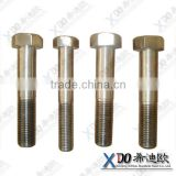 724L(316Lmod) stainless steel fasteners hex half threaded bolt hex bolts and nuts din 931