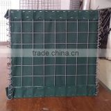 China factory supply glvanized/galfan coated Hesco barrier for sale,welded militaty sand wall Hesco barrier for sale