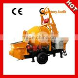 Portable Mobile Electric Concrete Mixer Pump