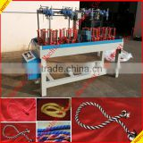 16 spindle Cheap high speed round/flat rope braiding machines