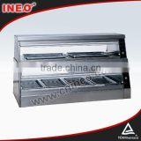 Fast Food Restaurant Hot Food Display Warmer(INEO are professional on commercial kitchen project)