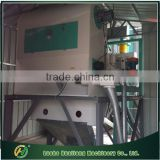 Mobile wheat seed cleaning machine for grain depot