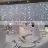the most beautiful event led light fabric curtain backdrops curtain