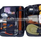 Road Safety/Car/Auto Emergency Kit/Roadside Tool Set with Adjustable Wrench and Rain Coat