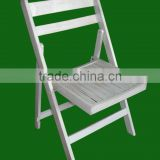 wholesale high quality garden chairs beech wood slat folding chairs