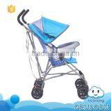 Latest design simple portable convenient foldable baby strollers wholesale