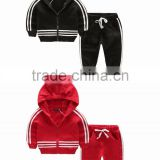Hot Sale Children Track Suit/ Boys and Girls Clothing Sets/ Unisex Kids Sports Wear Sets