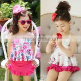 2016 Wholesale Clothing Kids Girl's Beautifu Cute Swimsuit