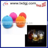 FDA,LFGB proved Silicone Ice Rounds Maker,silicone whisky ice ball maker