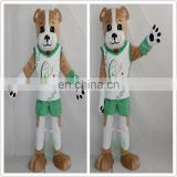 HI EN71 cutomized dog mascot costume for adult size,professional cartoon character costume