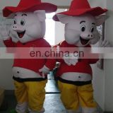 Customized Happy pig animal mascot costume for cosplay