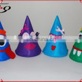 New Years Eve Felt Party Craft Hats